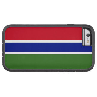 Flag of Gambia Tough Xtreme iPhone 6 Case