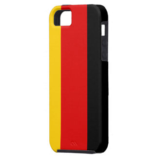 Flag of Germany iPhone 5 Case-Mate Tough™