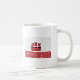FLAG OF GIBRALTAR COFFEE MUG