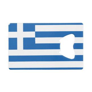 Flag of Greece Credit Card Bottle Opener