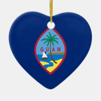 Flag_of_Guam Christmas Ornament