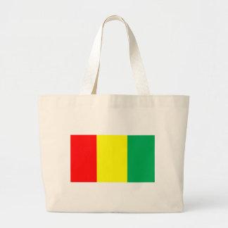Flag of Guinea Large Tote Bag