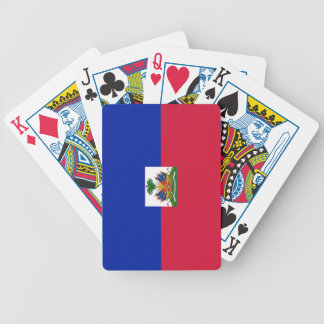 Flag of Haiti Bicycle Playing Cards