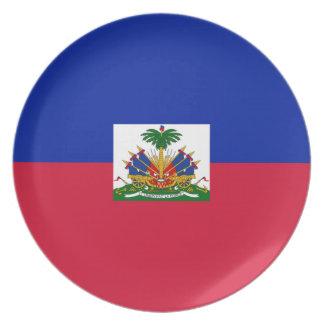 Flag of Haiti Plate