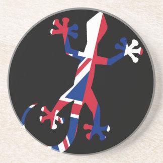 Flag of Hawaii Gecko Coaster