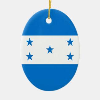 Flag of Honduras Christmas Ornament