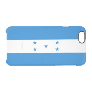 Flag of Honduras Clear iPhone Case
