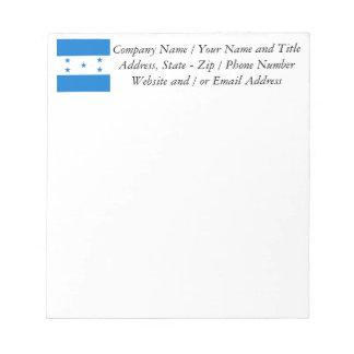 Flag of Honduras Notepads
