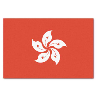 Flag of Hong Kong Tissue Paper