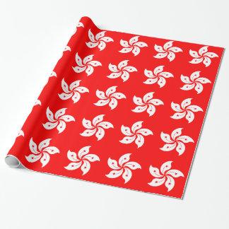 Flag of Hong Kong Wrapping Paper
