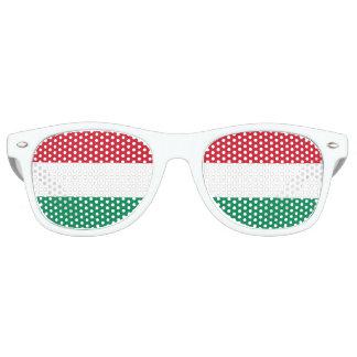 Flag of Hungary Retro Sunglasses