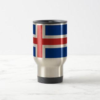 Flag of Iceland Coffee Mugs