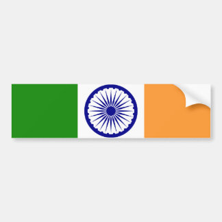 Flag of India Bumper Sticker