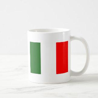 Flag of Italy Basic White Mug