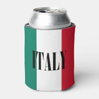 Flag of Italy Italia Italian Can Cooler