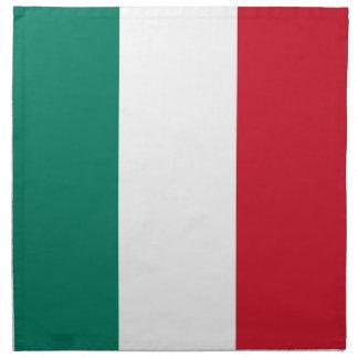 Flag of Italy Italia Italian Napkin