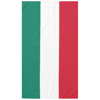 Flag of Italy Italia Italian Tablecloth