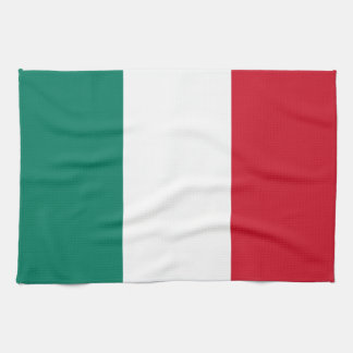 Flag of Italy Italia Italian Tea Towel