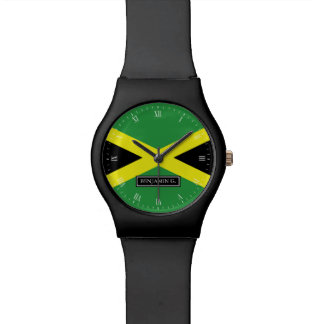 Flag of Jamaica Custom Name Watch