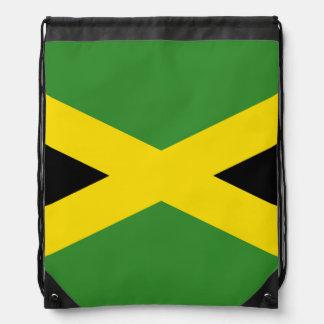 Flag of Jamaica Drawstring Bag