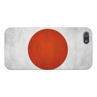 Flag of Japan Grunge: iPhone 5 Covers