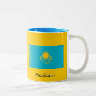 Flag of Kazakhstan Mugs