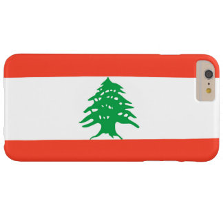 Flag of Lebanon Barely There iPhone 6 Plus Case