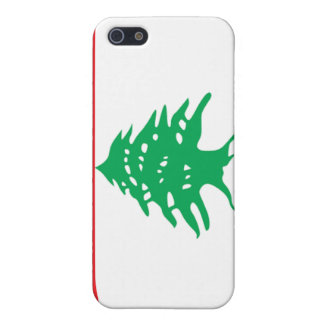 Flag of Lebanon Cover For iPhone 5/5S