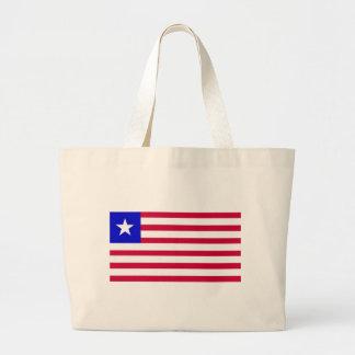Flag of Liberia Large Tote Bag