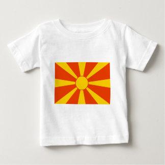 Flag of Macedonia Baby T-Shirt