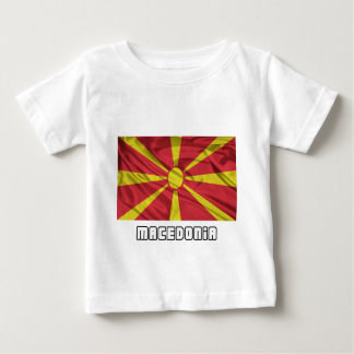 Flag of Macedonia Baby T-Shirt