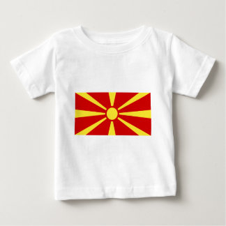 Flag_of_Macedonia Baby T-Shirt