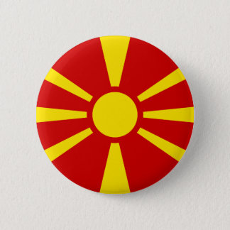 Flag of Macedonia Button