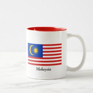 Flag of Malaysia Two-Tone Mug