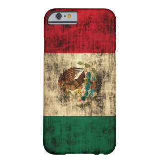 Flag of Mexico Distressed iPhone 6 case Barely There iPhone 6 Case