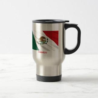 Flag of Mexico 15 Oz Stainless Steel Travel Mug