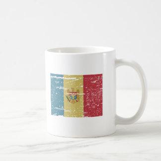 FLAG OF MOLDOVA COFFEE MUG