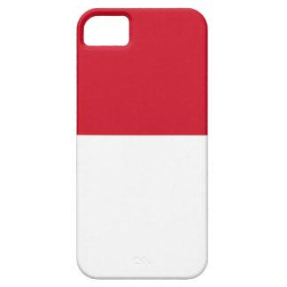 Flag of Monaco - Drapeau de Monaco iPhone 5 Cases