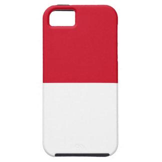 Flag of Monaco - Drapeau de Monaco iPhone 5 Covers