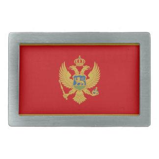 Flag of Montenegro Belt Buckle