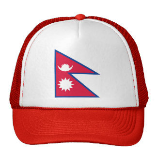 Flag of Nepal - नेपालको झण्डा Cap