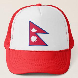 Flag of Nepal - नेपालको झण्डा Trucker Hat