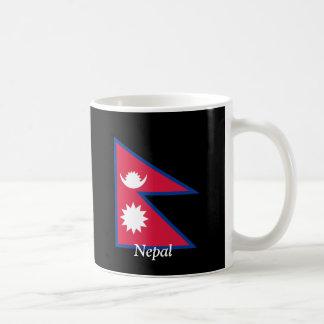 Flag of Nepal Basic White Mug