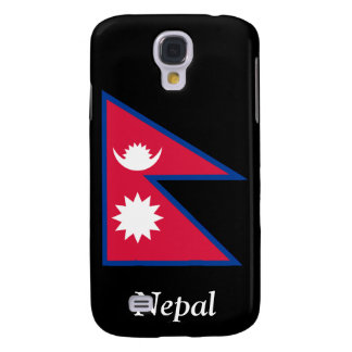 Flag of Nepal Samsung Galaxy S4 Covers