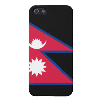 Flag of Nepal iPhone 5 Cases
