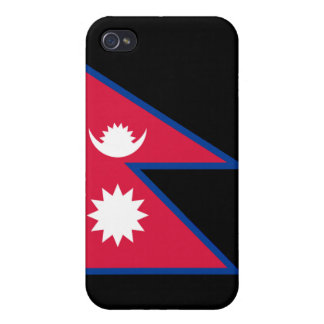 Flag of Nepal iPhone 4 Cases