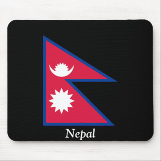 Flag of Nepal Mouse Pad