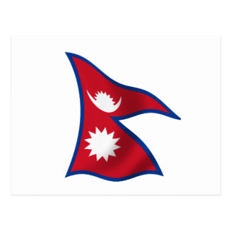 Flag of Nepal Post Cards