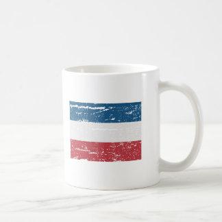 FLAG OF NETHERLANDS BASIC WHITE MUG