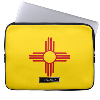 Flag of New Mexico Laptop Computer Sleeve
